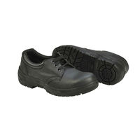 Safety Shoe Unisex Black Size 46