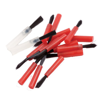 ETCH BRUSHES RED PK 100