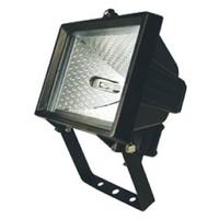 ETH400L 400W Floodlight Halogen Black w/o PIR