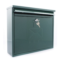 Sterling Elegance Post Box Green