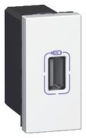 Arteor USB Charger Single - White    LV0501.2412