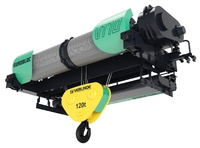 Verlinde VT Open Barrell Eurobloc Electric Wire Rope Hoist