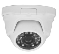 Triax Fixed Lens 1080p TVI Dome - White