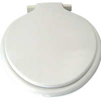 Heavyweight Thermoplastic Toilet Seat White 313 (Calypso)