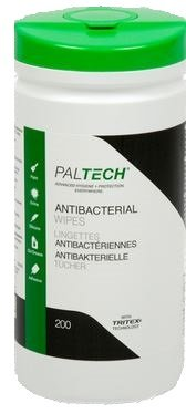 PALTECH Disposable Antibacterial Wipes (200)