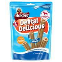 Bakers Dental Delicious - Medium Chicken 7 Stick 200g x 6