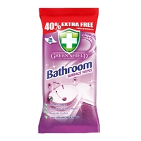 Green Shield Bathroom Surface Wipes 50pk