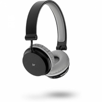 KitSound Metro Bluetooth Headphone in Black