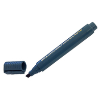 Black Permanent Marker Pen, Chisel, Tip, Metal Detectable