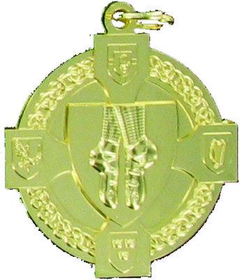 40mm Irish Dancing Medal (Gold)