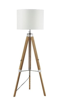 Easel Tripod Floor Lamp Light Wood, Base Only   LV1802.0146
