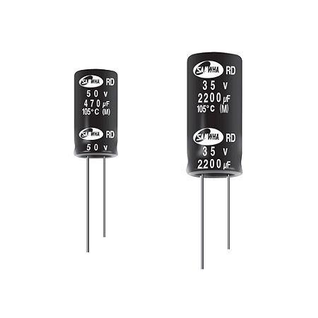0.47uF 50V Electrolytic Capacitor