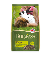 Burgess Excel Rabbit - Adult Original Mint 2kg [Zero VAT]