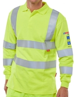 ARC FLASH FR AST High Visibility Polo Shirt