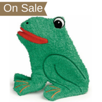 Washcloth Puppet - Frog