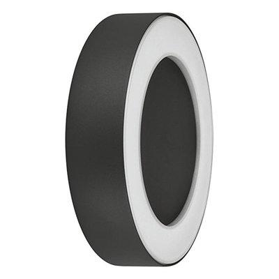 LEDVANCE Grey Round Wall Light, 13w 3000k Warm White
