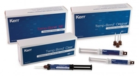 KERR - TEMP BOND CLEAR WITH TRICLOSAN AUTOMIX SYRINGE