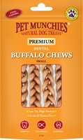 Pet Munchies Dog Buffalo Chews Small 4pk x 8