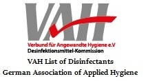 VAH List of Disinfectants