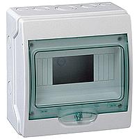 Schneider Kaedra12 MOD 1 Row  IP65 Weatherproof  Enclosure 13444