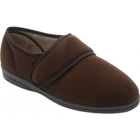 Cosyfeet Brown Slipper (Richard)