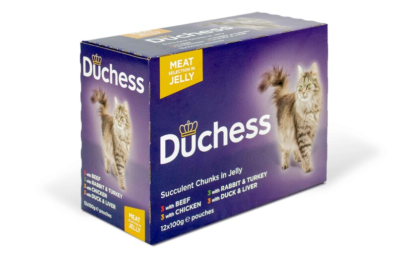 Duchess Meat in Jelly Pouches 4 x 12 x 100g
