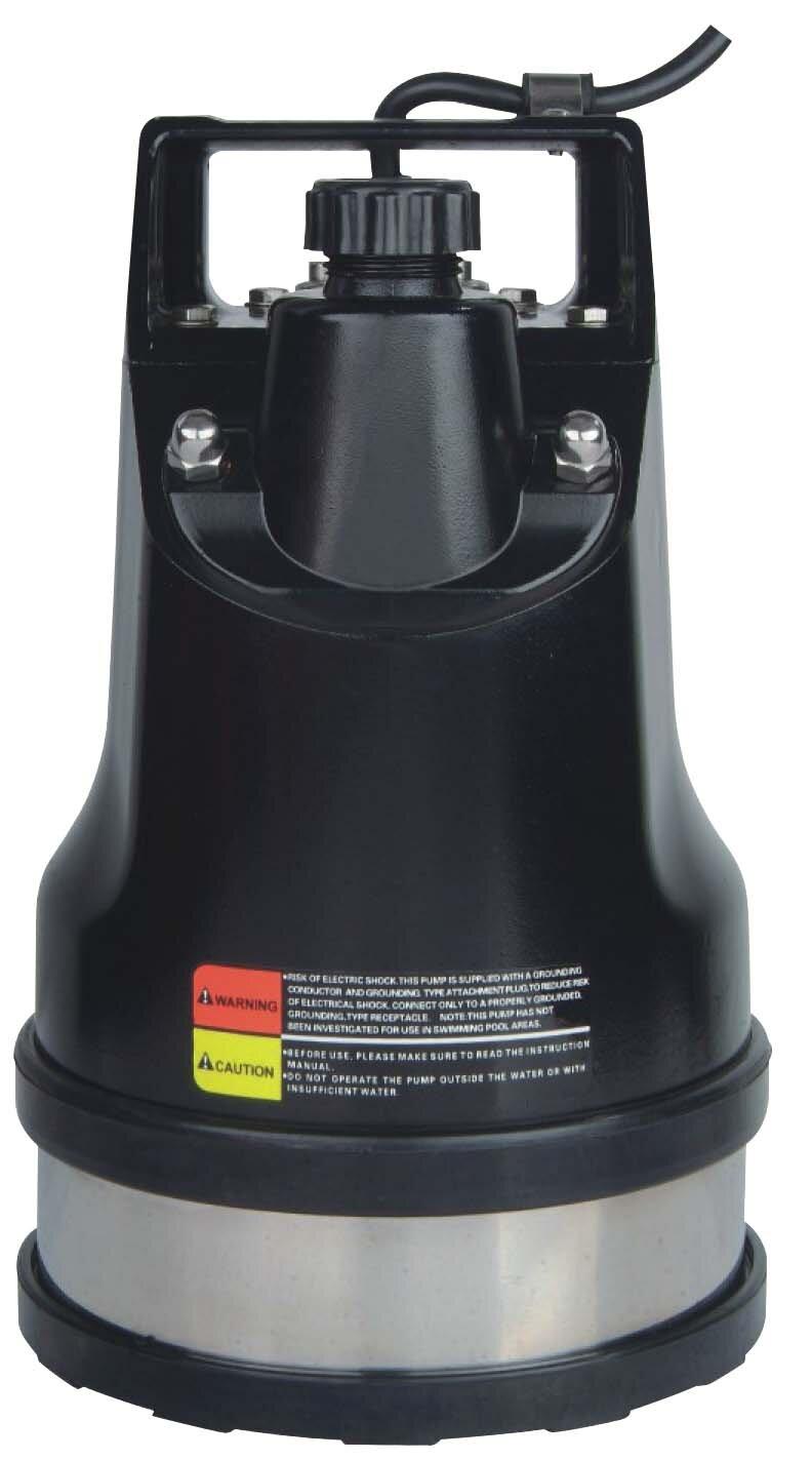 Stream water pump, residual water pump