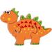 Mini orange Dinosaur puzzle