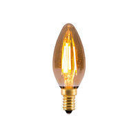 Bell 4W LED SES Vintage Candle