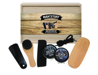 Man stuff Shoe Kit