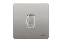 Schneider Ultimate Screwless Stainless Steel white|LV0701.0940