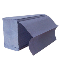 Blue Z-Fold Handtowels, 4000/Case