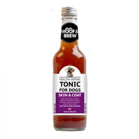 Woof & Brew Skin & Coat Herbal Tonic 330ml x 1