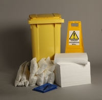 240 LITRE OIL ONLY TWO WHEELED SPILL KIT