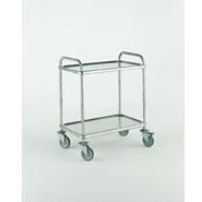 Bourgeat Trolley S/S2 Tier 1120 x 700x960mm High With Brakes