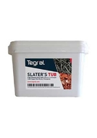 SLATERS TUB CONSISTING OF 2000 NAILS & 1000 COPPER CRAMPIONS