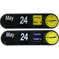 Desk Flip Day and Night Clock