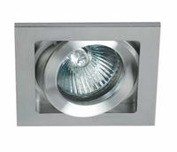 ONE Light Aluminium Square Raised Edge Adjustable Downlight
