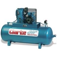 200L 4Hp Clarke Compressor 240v 18Cfm  2084645 SE18C200ND