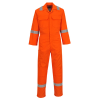 Portwest BizWeld Iona Coverall Hi-Vis Orange