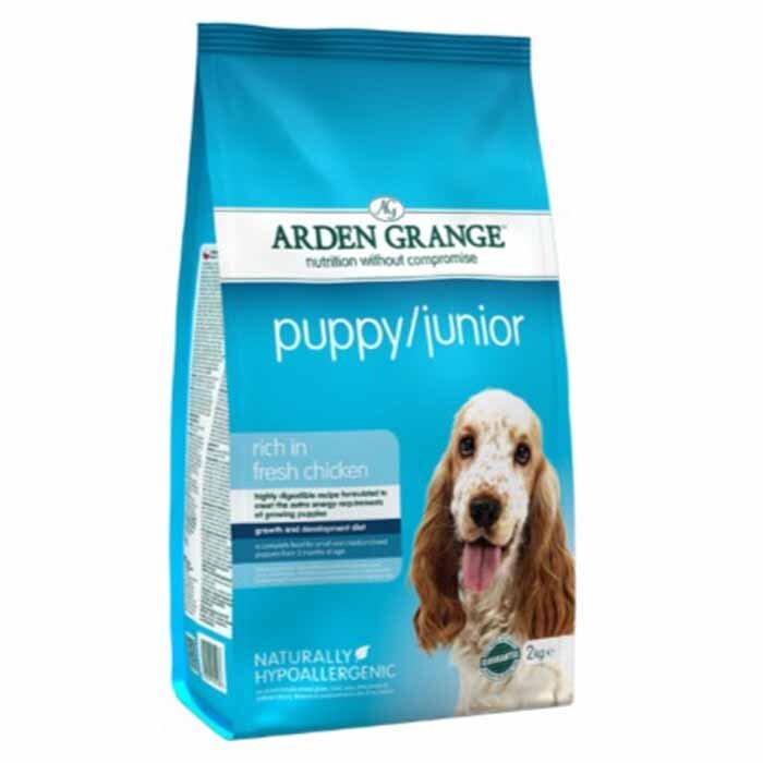 Arden Grange Puppy / Junior – rich in fresh chicken