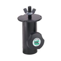 Euromet 01943 | Lighting adapter, Female attachment ø 31 mm, Black