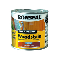 Quick Drying Woodstain 250ml Natural Oak