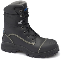 Blundstone 995 Nitrile Sole Anti Penetrate Lace Up Safety Boot&Scuff Black