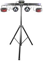 CHAUVET DJ GIGBAR 2 4-in-1 LED Lighting System w/2 LED Derbys, LED Wash Light, Laser, & 4 LED Strobe LightsLaser & Strobe Effects