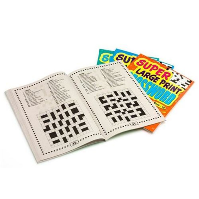 Large Print Crosswords Set