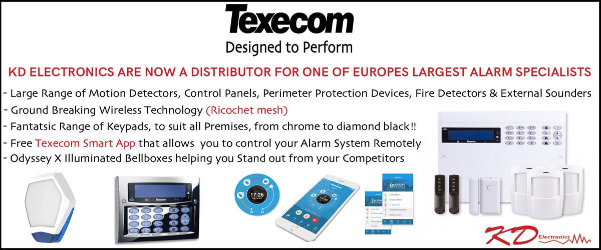 Texecom Intruder Alarms