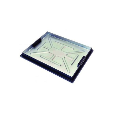 MANHOLE BLOCK PAVIOR RECESSED ALL METAL