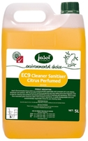 EC9 Cleaner Sanitiser Citrus Perfumed 5L