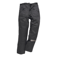 Portwest Lined Action Trousers Black